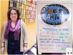 Donna Bernstein of The Messy Artist
