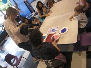 art class children nj video