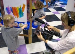 childrens art class nj video