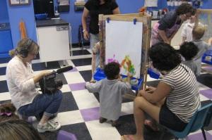 kids art class new jersey video