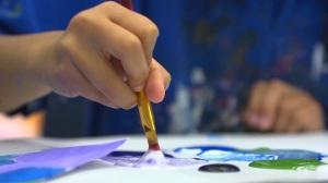 west caldwell art class kids nj video still