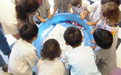 childrens art class nj pool