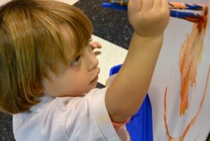 painting class children