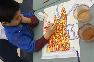 childrens fine art class and parties