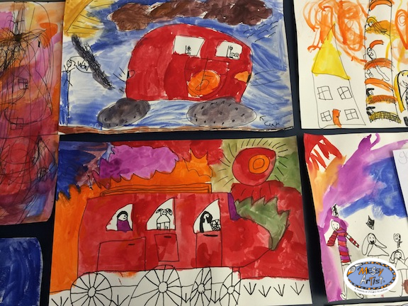 kids art class and parties nj north
