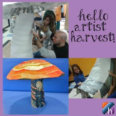 messy artist harvest art class parties nj kids