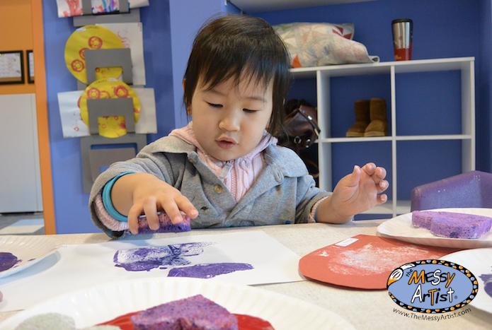 children's art studio nj heart project