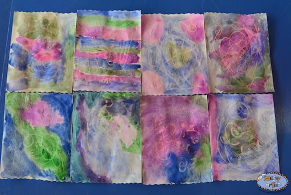 messy artist art studio for kids nj