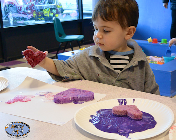 Morris county art class for kids