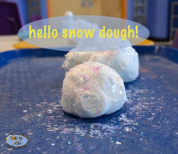 snow dough creative fine art the messy artist