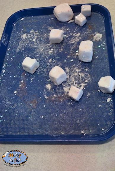snow dough cubes the messy artist nj