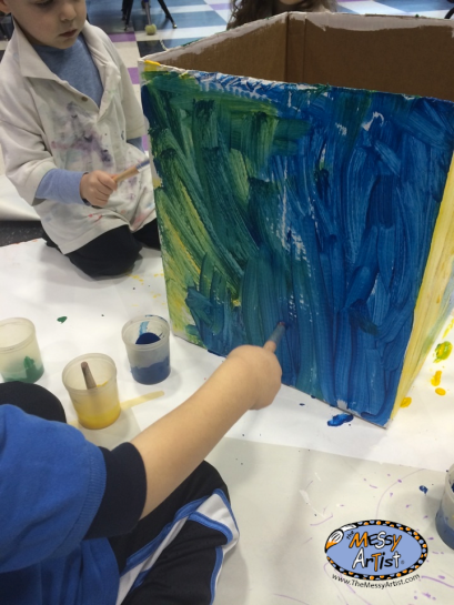 fine art class and parties kids art goryeb hospital