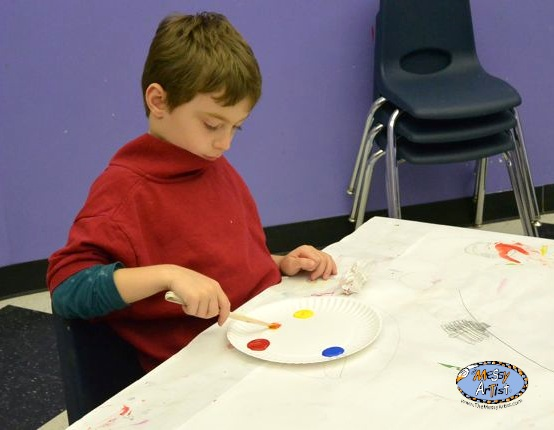 fine art class for kids nj