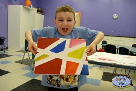 the messy artist art class for kids