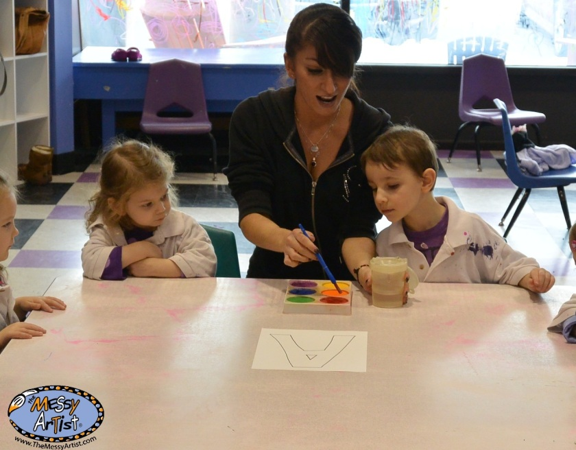 fine art classes and parties for kids new jersey