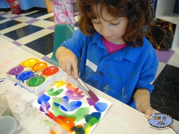 morris county kids art class and party
