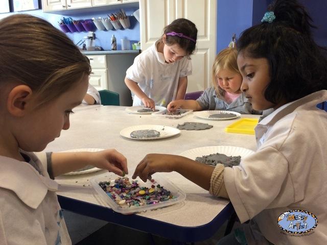 The Messy Artist fine art classes for kids