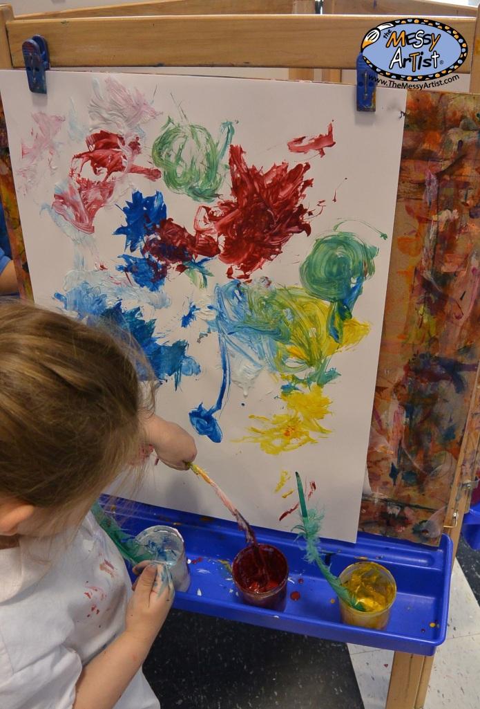 explore art and texture children