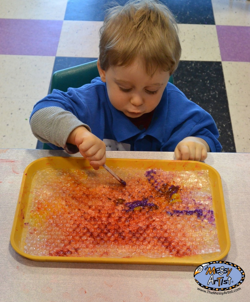 the messy artist classes and parties for kids new jersey