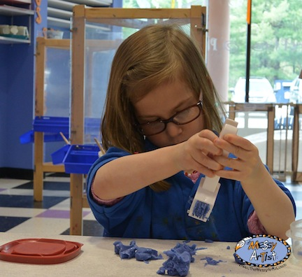 play dough tools and recipe