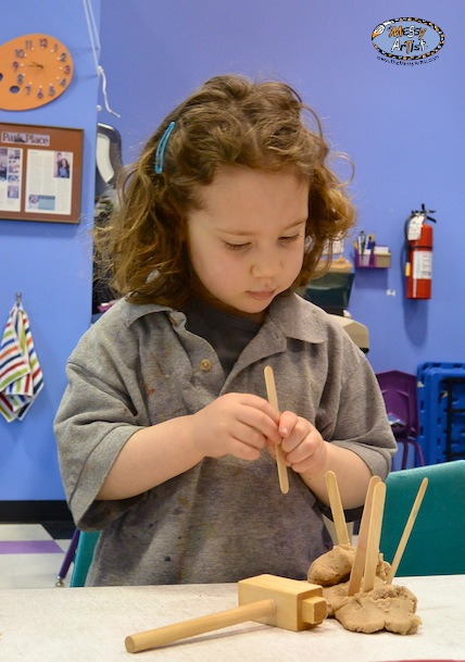 process oriented art for kids