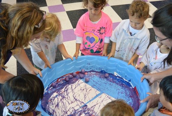 process oriented art for children