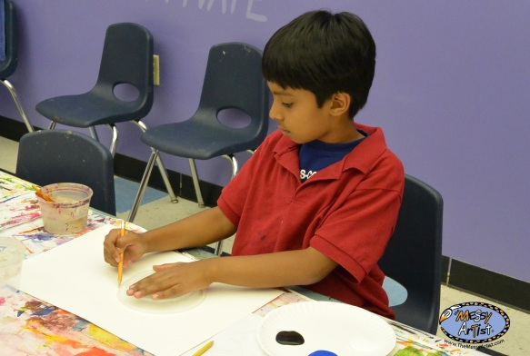 the messy artist fine art classes camps and parties