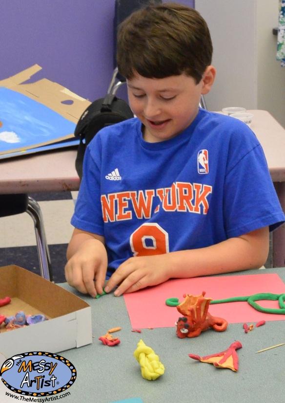 creative fun art camp video kids