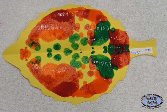 symmetry art project preschool