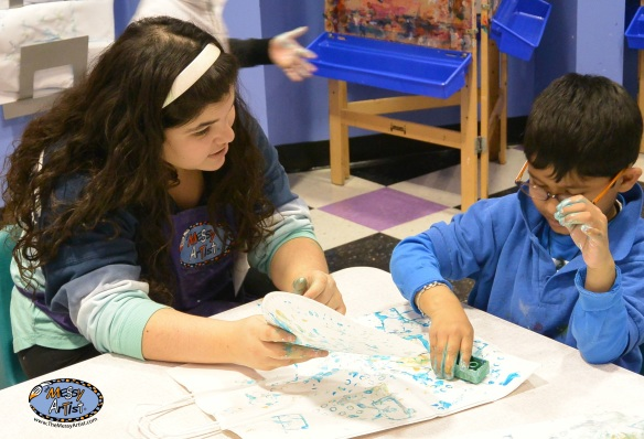 art class for elementary toddler and middle school children