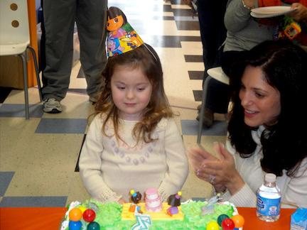 Savannah and Cake at Messy Artist copy