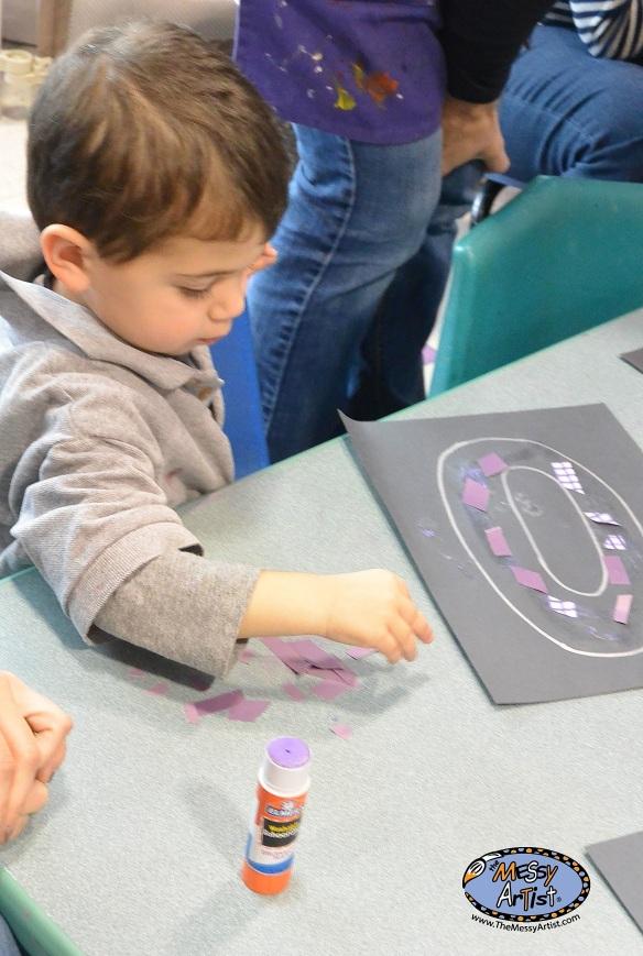 process oriented art studio for kids