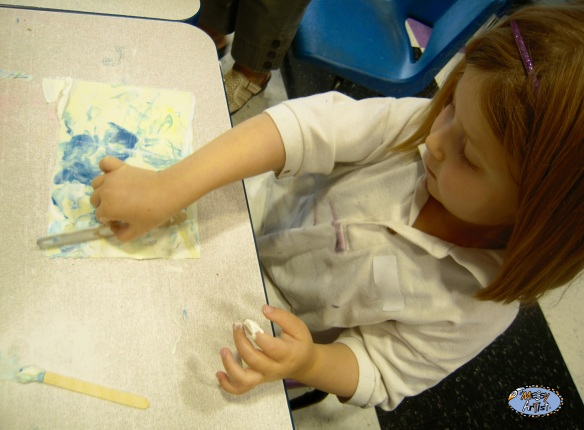 process oriented art the messy artist
