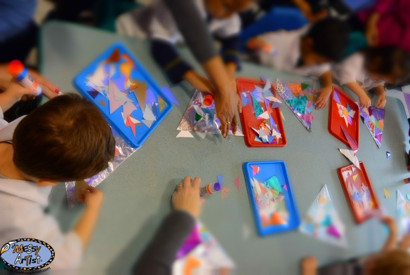 the messy artist classes for kids
