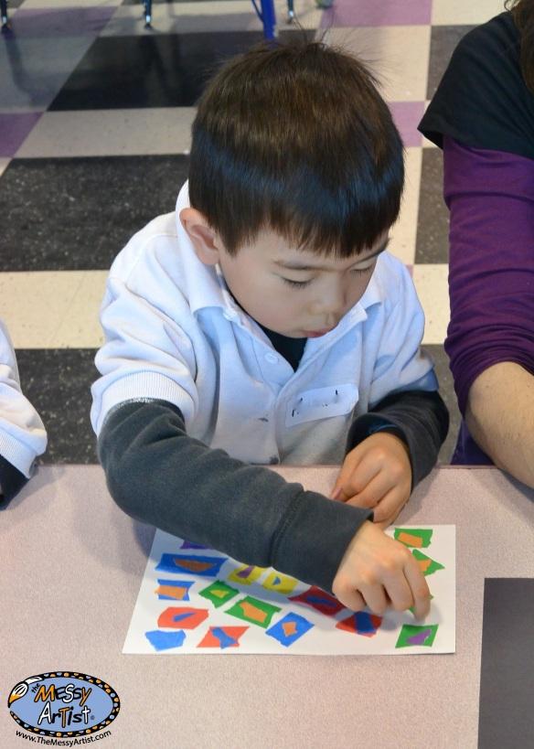 art lesson plan for kids