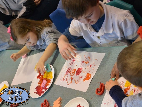 art project lesson plan for children