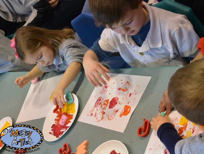 art project lesson plan for children