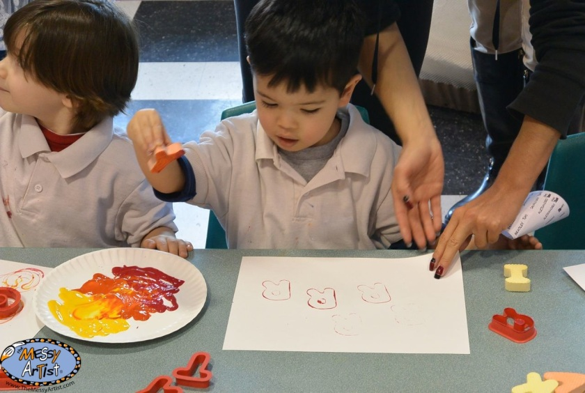 art project lesson plan for kids