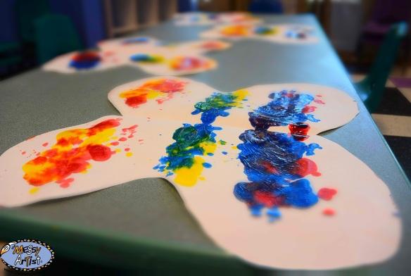 the messy artist kids art studio