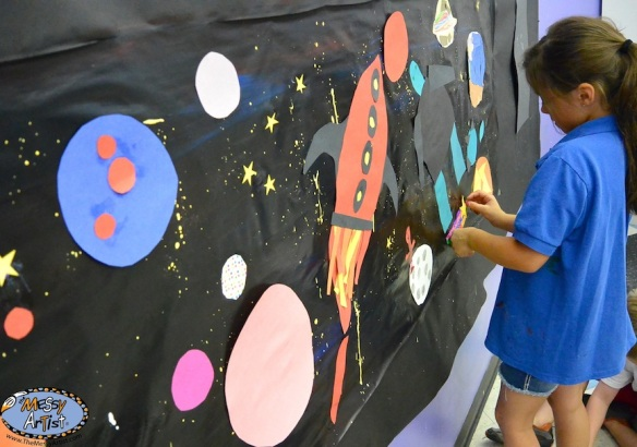 mural project by children
