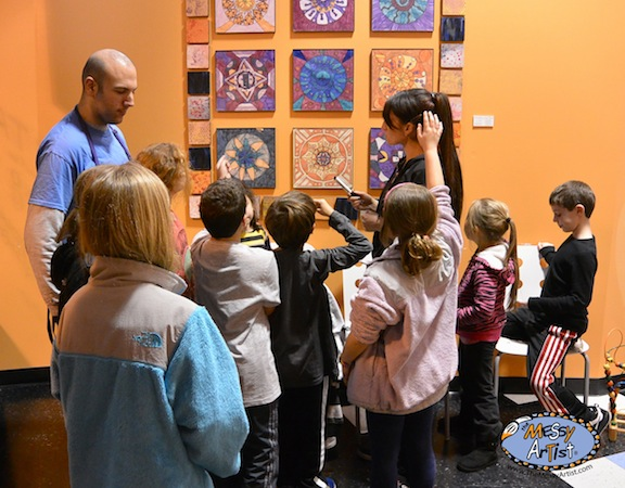 nj kids art class and party