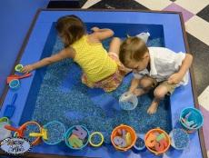 the messy artist art studio for kids