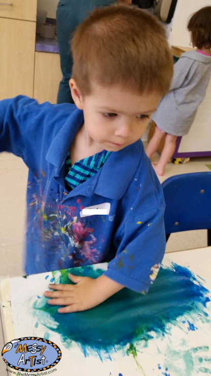 the messy artist