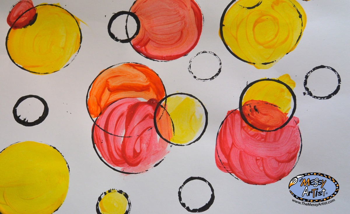 Hello warm color circles!