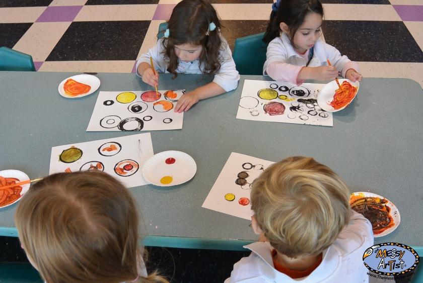 new jersey kids art class
